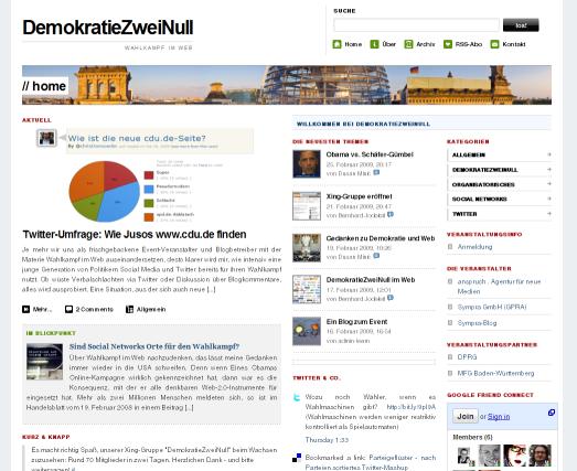 Die Aktions-Website: http://demokratiezweinull.de