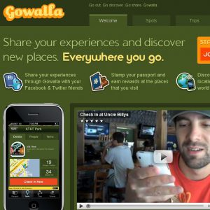 Gowalla & Co.: Location Based Games