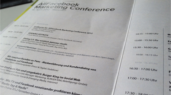 Aufmacher2 in AllFacebook Marketing Conference: Das Interessanteste in 804 Wörtern.