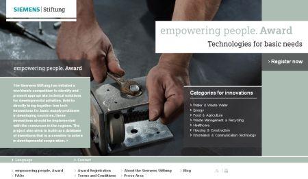 empowering people. Award