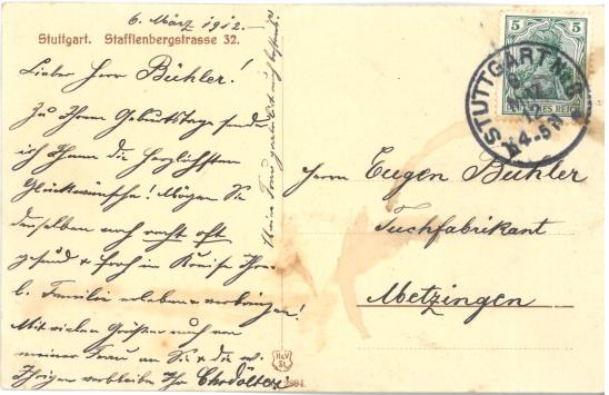 Stafflenbergstrasse Bild 1