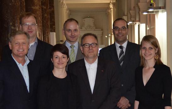 Vorstand der DPRG-Landesgruppe BW 2014-2017