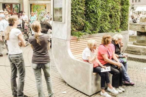 Moos-Wand in Krefeld, Copyright Green City Solutions